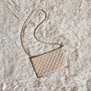 Forever 21 Blush Pink Quilted Bag